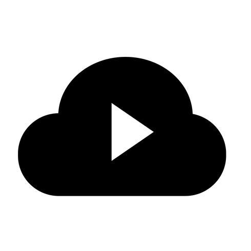 Teken van wolk pictogram