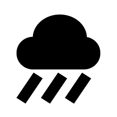 Icona della pioggia