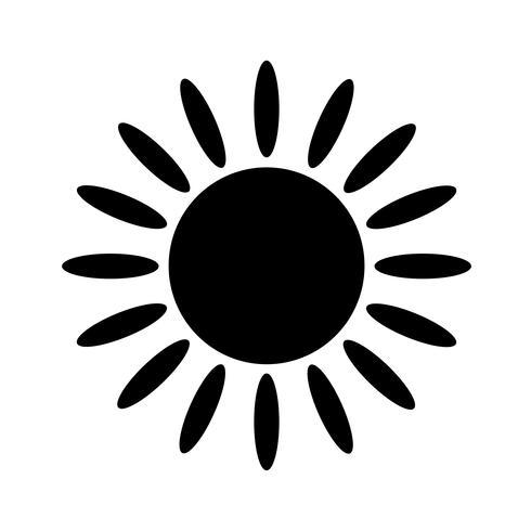 Segno dell'icona del sole