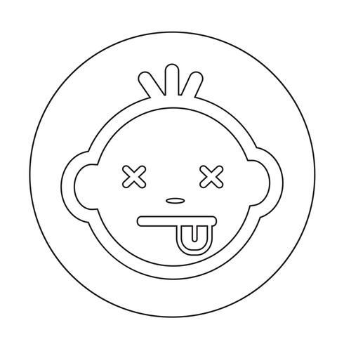 Baby Face Icon