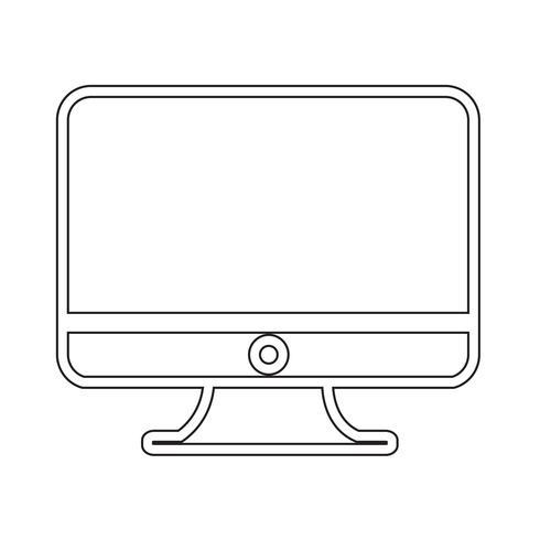 Skrivbordsdatorikon