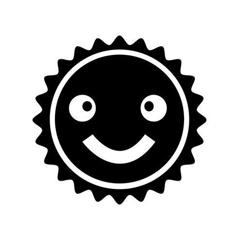 Segno icona di sole