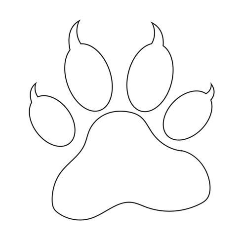 djurpaw print icon