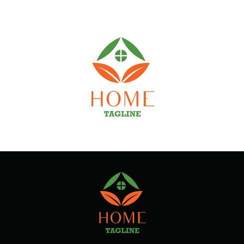 Logo immobilier. Logo d'accueil