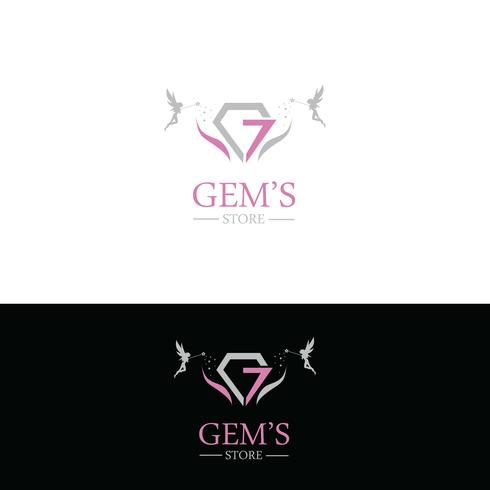Smycken logotyp design