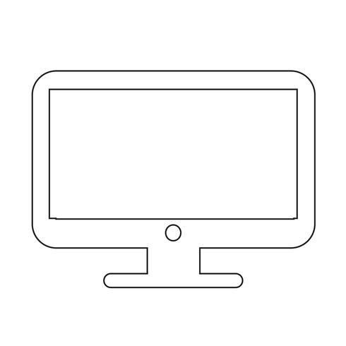 Icône d'ordinateur de bureau