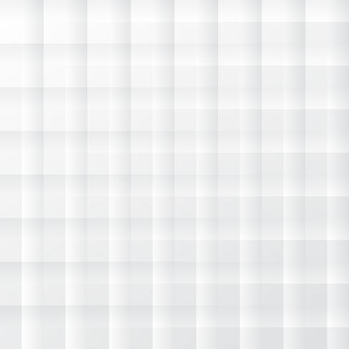 Sfondo bianco moderno Fondo di stile di arte di carta geometrica quadrato bianco