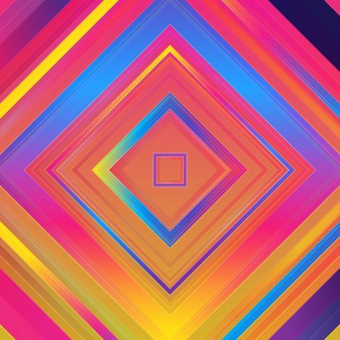Fondo colorido abstracto. Formas simples con gradientes de moda. vector