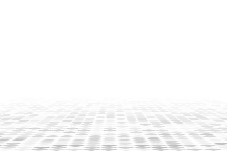 Vita geometriska perspektiv bakgrund vektor