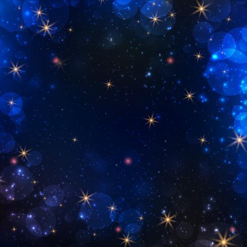 Fondo abstracto de la galaxia vector