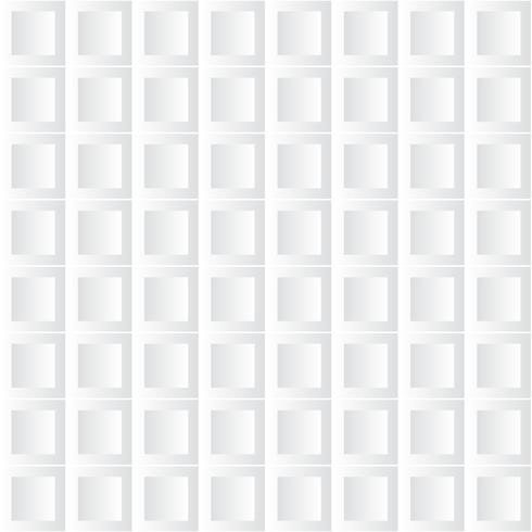 Modern white background. White square geometric paper art style background vector