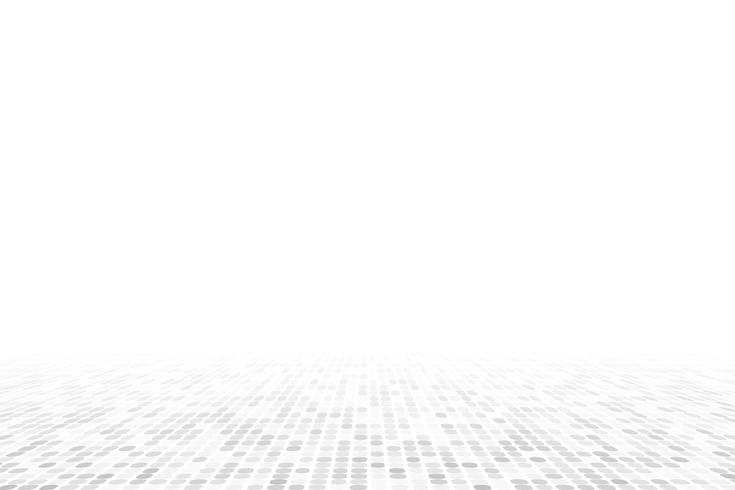 Vita geometriska perspektiv bakgrund