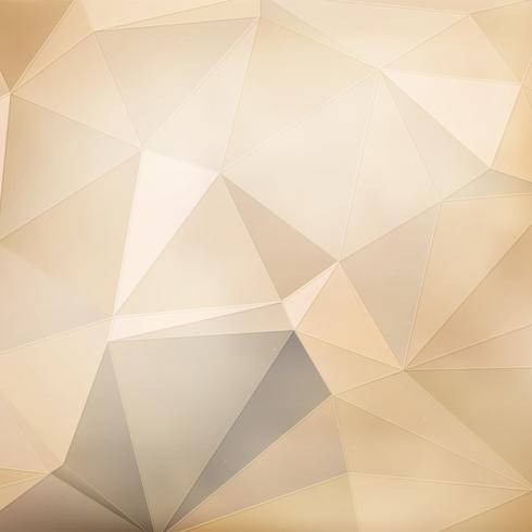 Fond géométrique or