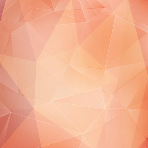 Rosa kristall geometrisk bakgrund