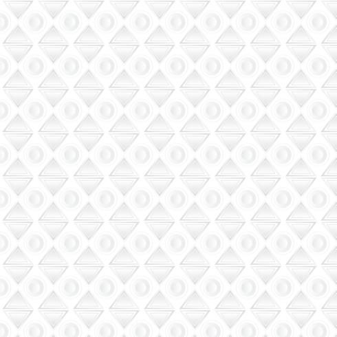 Vit geometrisk bakgrund, mönster