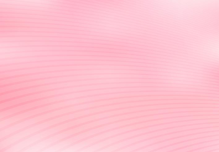 Abstrait dégradé rose avec des lignes incurvées de fond texture.