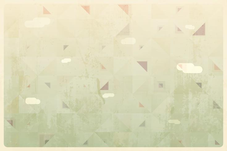 Abstract Retro Geometric Background