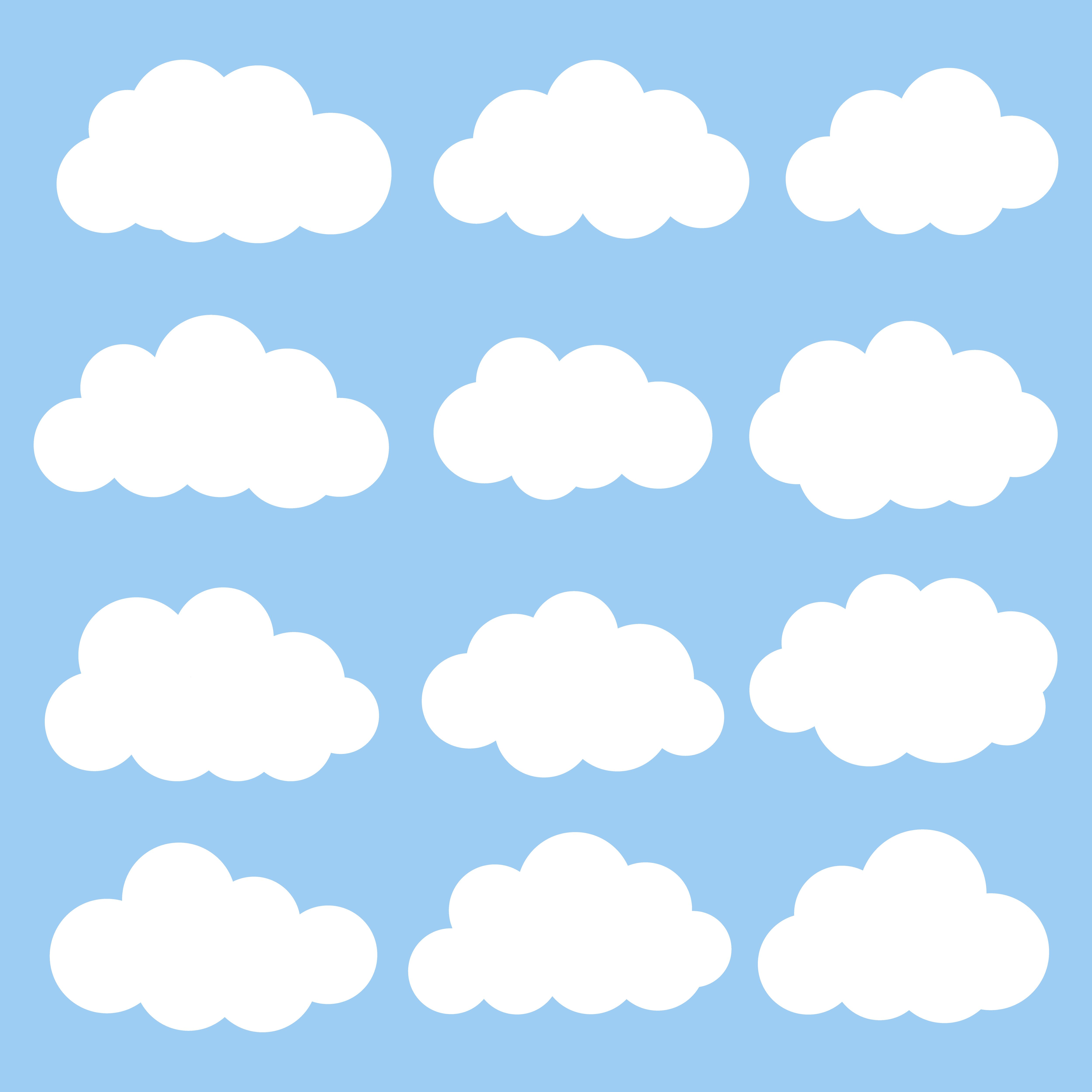 Картинка облако графически