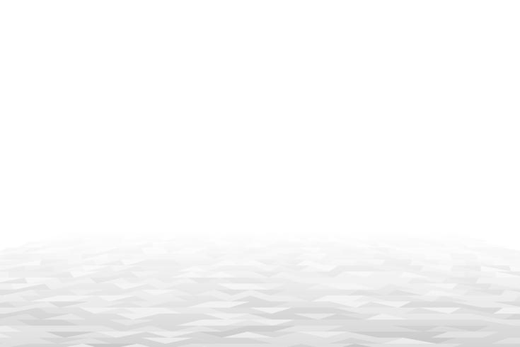 White geometric perspective background vector