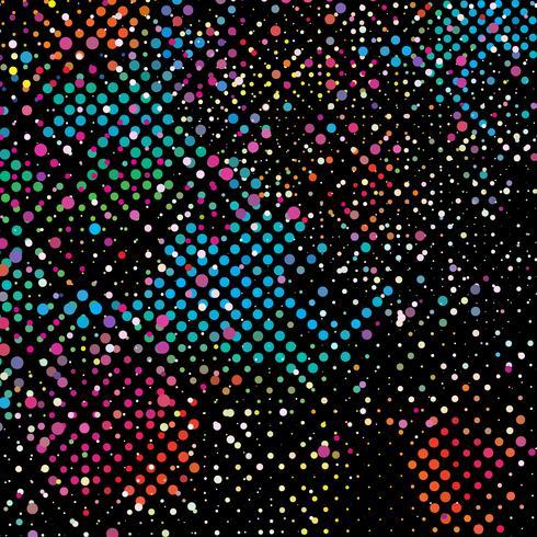 Sfondo colorato punti