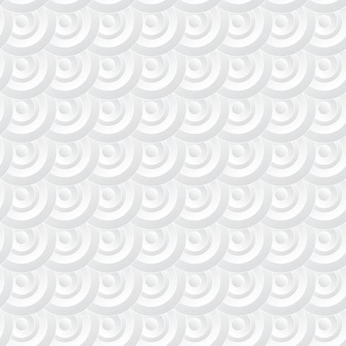 Fundo do círculo branco. Estilo de arte de papel