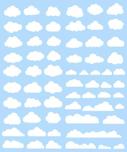Conjunto de vectores de nubes