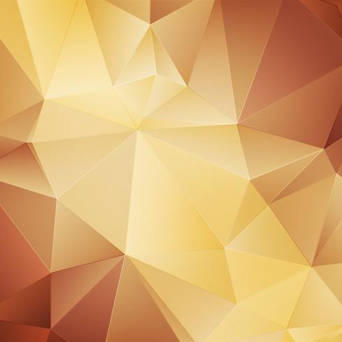 Fundo geométrico ouro vetor