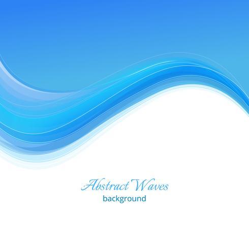 Fondo de ondas azules. Fondo azul abstracto de la onda Plantilla azul del negocio de la onda