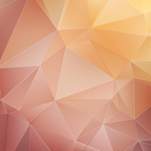 Roze kristal geometrische achtergrond