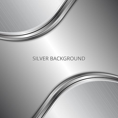 Sfondo d'affari d'argento. Sfondo metallico argento