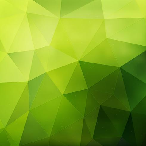 Grön geometrisk bakgrund