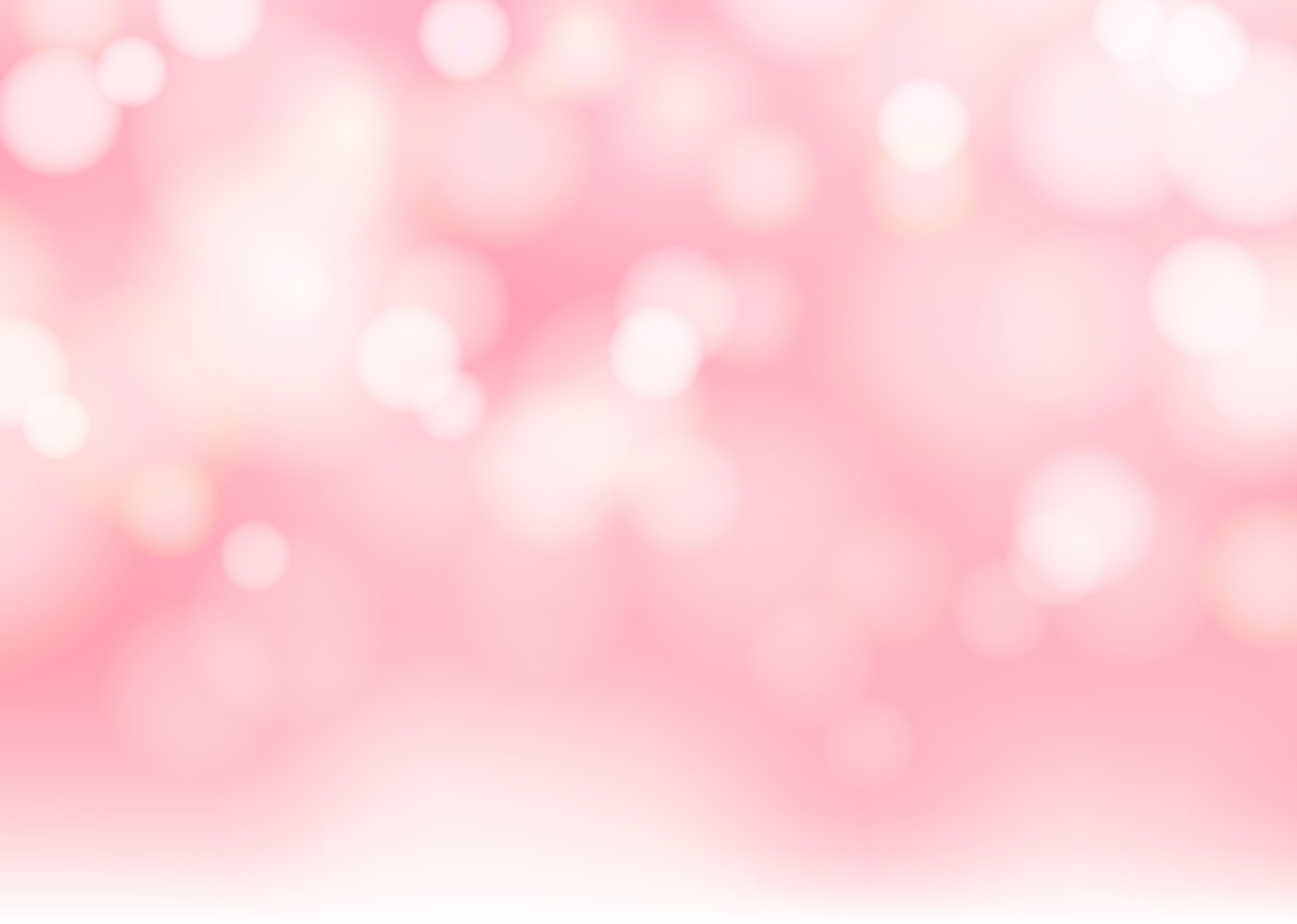 Abstract Blurred Soft Focus Bokeh Of Bright Pink Color