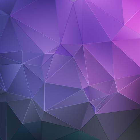 Fundo abstrato de cristal roxo