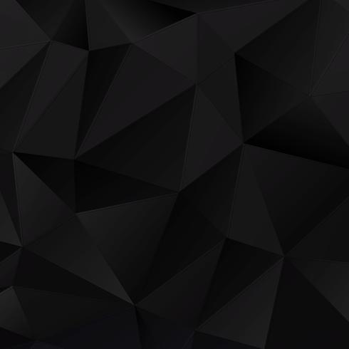 Zwarte geometrische achtergrond