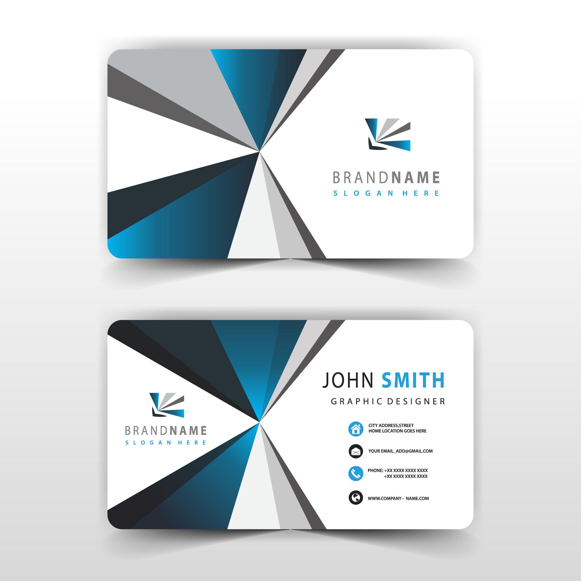 Graphic Designer Visiting Card Free