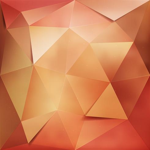 Fundo geométrico ouro