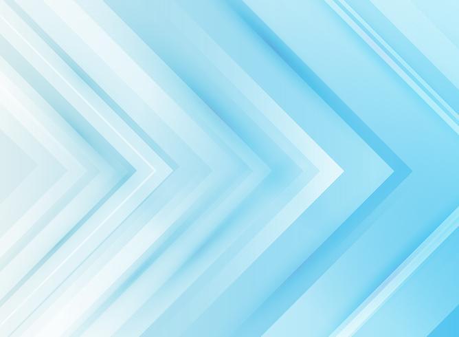 Fondo corporativo del azul de las flechas de la tecnología abstracta. vector