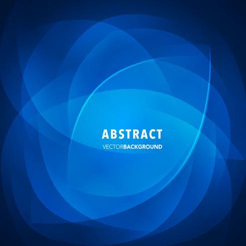fondo abstracto vector azul