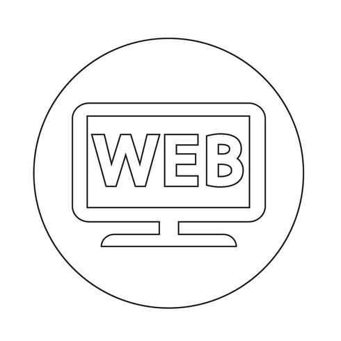 Icono de web tv