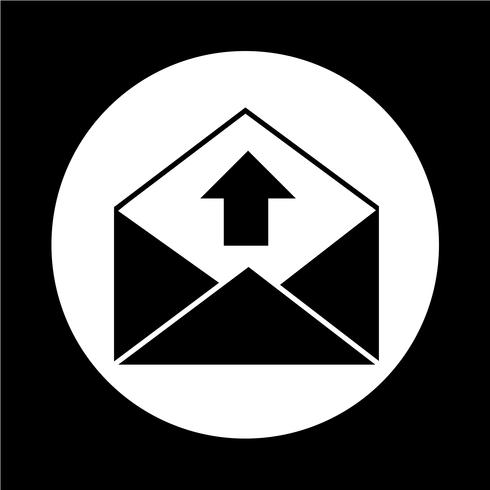e-mail envelop pictogram