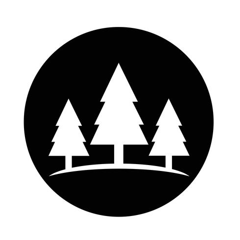 icono de árbol