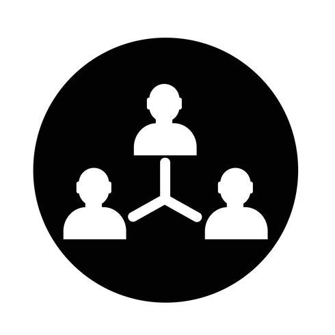 Ícone da pessoa do usuário vetor