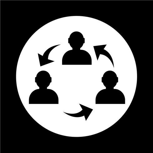 Icono de persona de usuario vector