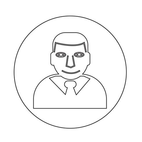 Affärsman ikon