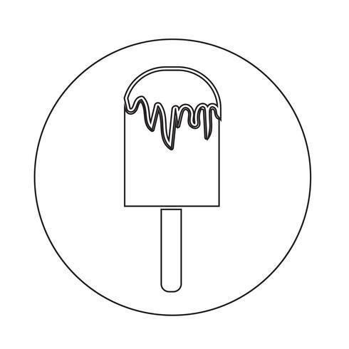 Crème Glacée Icône