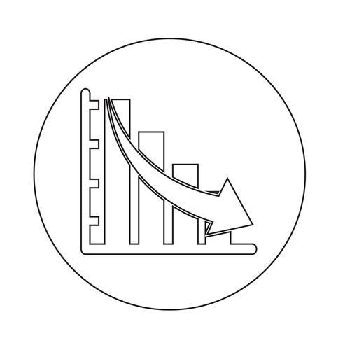 diagrama gráfico icono