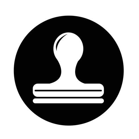 Icono de sello vector
