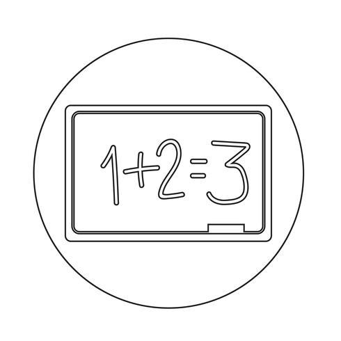Icona della lavagna
