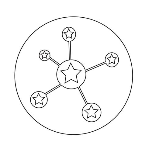 Netzwerksymbol vektor