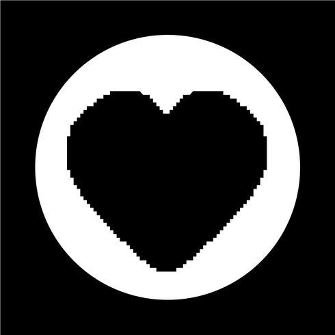 corazón como icono